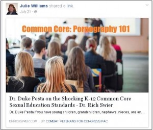JulieCommonCore Pornography